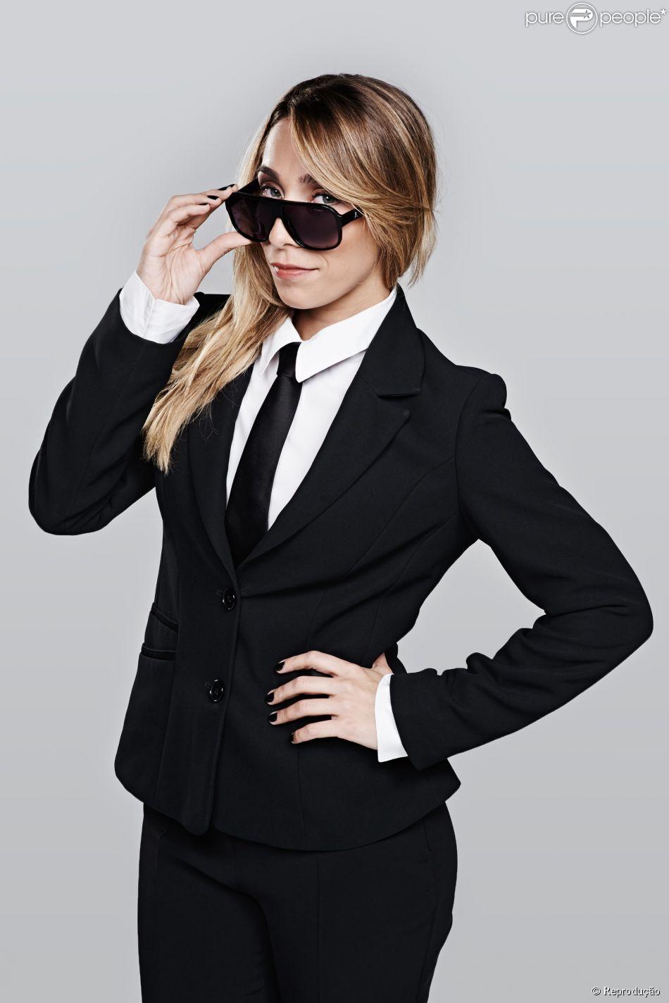 Naty Graciano é a nova repórter do 'CQC', programa exibido pela Band. A atriz foi escolhida para substituir Monica Iozzi após uma bateria de testes