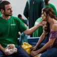 Rubinho (Emilio Dantas) decidiu fugir da cadeia e convenceu Bibi (Juliana Paes) a ajudá-lo e seguir com ele, na novela 'A Força do Querer'