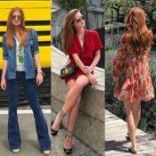 Veja detalhes dos looks de Marina Ruy Barbosa durante férias na Europa. Fotos!