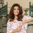 Juliana Paes avalia os pontos positivos de sua personagem, Bibi: 'Ela é muito corajosa'