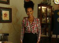 Sheron Menezzes exibe barriga discreta de gravidez em festa de novela. Fotos!