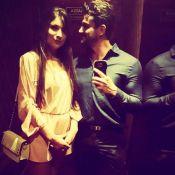 Ex-BBB Marcos Harter posta primeira foto com a namorada, Babi Rocha. Veja!