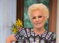 Ana Maria Braga posa com erva que lembra maconha e brinca: 'Em casa não falta'