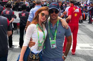 Marina Ruy Barbosa confere GP da Áustria ao lado do noivo, Xandinho Negrão
