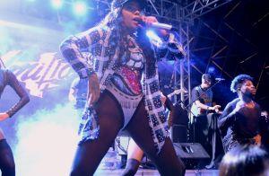 Body supercavado de Ludmilla é destaque em show da cantora. Veja fotos!