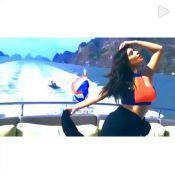 Kim Kardashian e família passam férias na Tailândia. Veja fotos!