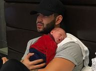 Gusttavo Lima posa com filho, Gabriel, no colo: 'Definição do que é o amor'
