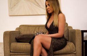 Zilu Camargo deixa pernas à mostra em look fendado e arranca elogios: 'Lacrou'