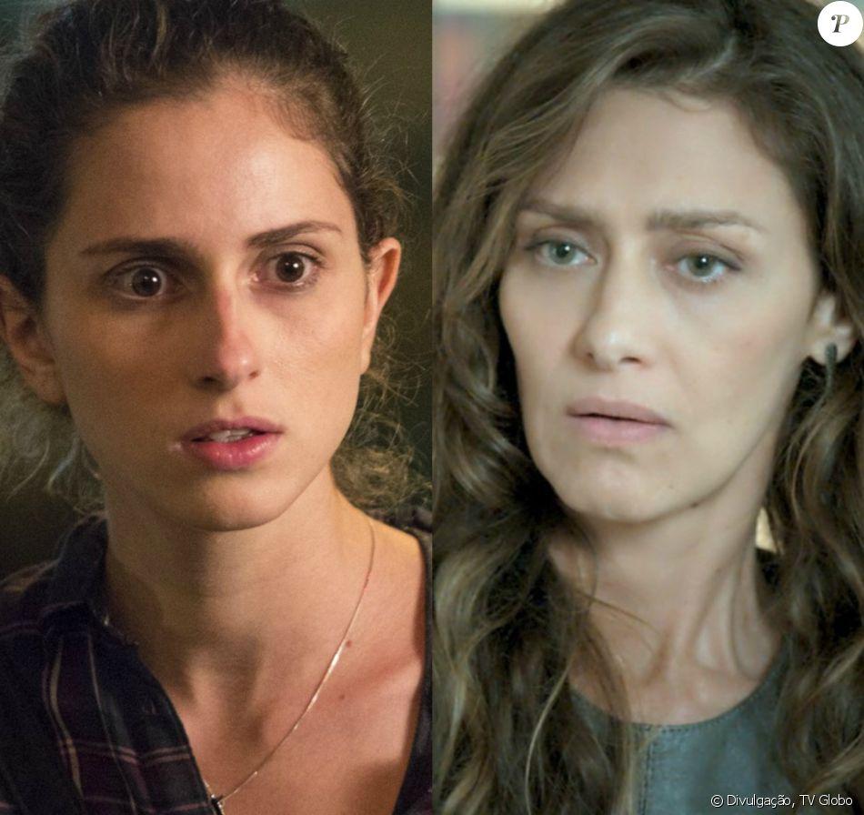 Joyce (Maria Fernanda Cândido) parte para cima de Ivana (Carol Duarte), solta seu cabelo à força e lhe arranca o boné, na novela 'A Força do Querer': 'Troca essa roupa! Agora! Já!'