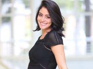 Carol Castro, de biquíni, chama atenção na reta final da gravidez: 'Está enorme'