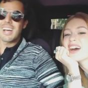Marina Ruy Barbosa se diverte cantando 'Traidor' com o noivo: 'Beijo, Paulinha'
