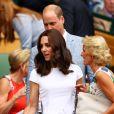 Kate Middleton se tornou patrona de Wimbledon, tradicional torneio de tênis realizado em Londres, na Inglaterra