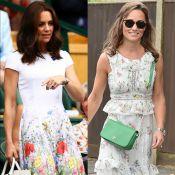 Kate e Pippa Middleton apostam em vestidos florais em Wimbledon. Veja detalhes!