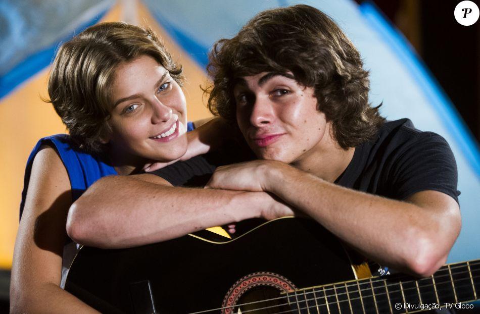Isabella Santoni e Rafael Vitti foram o casal protagonista de 'Malhação Sonhos', que estreou em 14 de julho de 2017