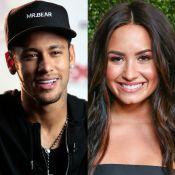 Neymar canta música de Demi Lovato, a elogia e ela agradece: 'Coisa mais legal'