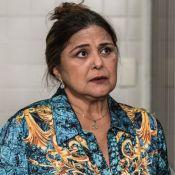 Elizangela, no ar na novela 'A Força do Querer', fica presa em tiroteio no Rio