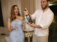 Solange Almeida e empresário Leandro Andriani se casam em cerimônia surpresa