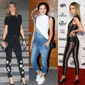 Camila Queiroz admira estilo de Gisele Bündchen e ousadia de Gigi Hadid:'Ícones'