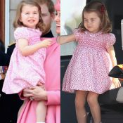 Princesa Charlotte repete look em viagem com a Família Real na Alemanha. Fotos!