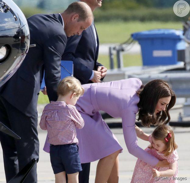 Filha de William e Kate Middleton, princesa Charlotte fez birra e levou uma bronca da mãe