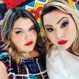 """Thaís Carla e Tatiana Lima se conhecem de longa data: """"Compartilhamos muitos momentos juntas. Agora, também quebramos tabus juntas"""""""