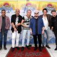 Grupo Roupa Nova se apresentou no KM de Vantagem Hall, na Barra da Tijuca, Rio de Janeiro, na noite desta sexta-feira, 22 de julho de 2017