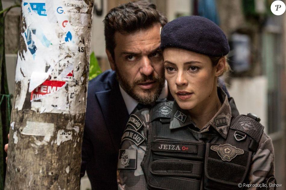 Na novela 'A Força do Querer', a troca de olhares entre Jeiza (Paolla Oliveira) e Caio (Rodrigo Lombardi) divide web