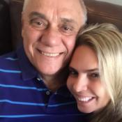 Marcelo Rezende, tratando câncer, ganha declaração da namorada: 'Sorriso lindo'
