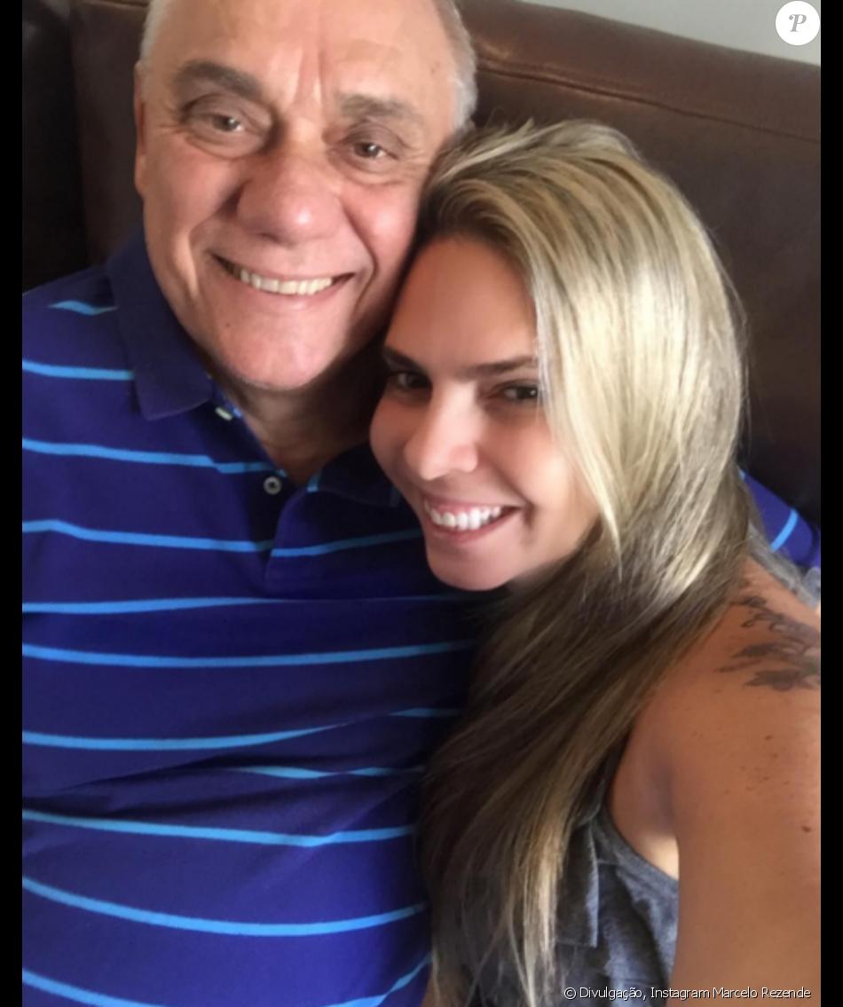 Marcelo Rezende reaparece nas redes e ganha declaração da namorada