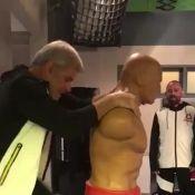 Paolla Oliveira exibe barriga seca em vídeo de treino: 'Reforço vai ser bom'