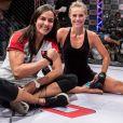 Érica Paes é profissional de MMA e tem ajudado Paolla Oliveira a se preparar para as cenas de luta