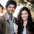 Maria Vitória (Vitória Strada) procura por Inácio Ramos (Bruno Cabrerizo) no Brasil depois que a filha do casal é entrega para adoção, na novela 'Tempo de Amar'