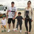 Wesley Safadão é pai de Yhudi, de 6 anos, e de Ysis, de 3