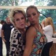 Valesca Popozuda manda 'beijinho no ombro' com Ana Maria Braga