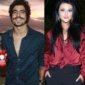 Caio Castro prestigia festa de aniversário de 23 anos da atriz Anajú Dorigon