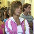 Em 'Senhora do Destino', Bárbara Borges surgiu com o cabelo claro e desfiado acima dos ombros