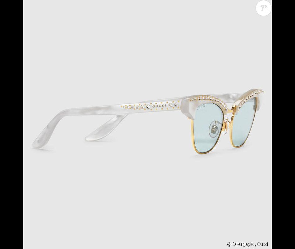 fb0805d524b50 Os óculos Gucci usados por Bruna Marquezine são vendidos a   620, cerca de  R  1.950