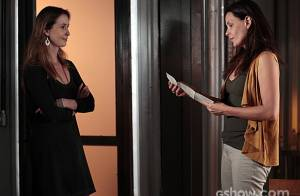 'Além do Horizonte': Angelique descobre mensagem de Lili e entrega para Tereza
