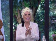 Ana Maria Braga usa turbante de abacaxi e movimenta web: 'Criadora de meme'