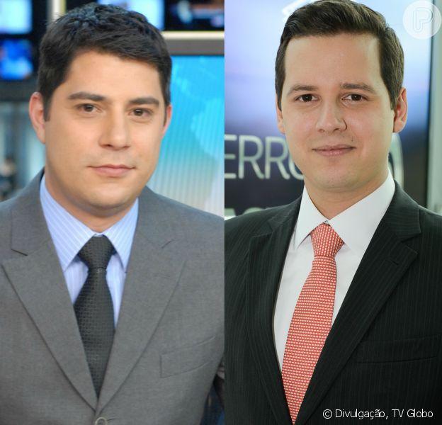 Evaristo Costa vai ser substituído por Dony de Nuccio, da GloboNews, no 'JH', informa a Globo nesta sexta-feira, 28 de julho de 2017