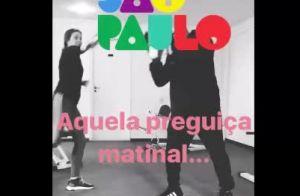 Marina Ruy Barbosa luta muay thai e mostra golpes em vídeo: 'Aquela preguiça'
