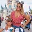 Rafaella Justus curtiu os parques da Disney com a mãe, Ticiane Pinheiro