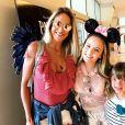 Rafaella Justus comemorou seu aniversário na Disney ao lado de Larissa Manoela