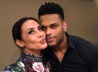 Scheila Carvalho posta foto beijando Tony Salles após recuperação: 'Amor'