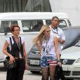 Isabelle Drummond se produz para novo papel em 'Geração Brasil' em gravação no Rio