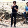Fiuk grava cenas de seu novo personagem da novela 'Geração Brasil', da Globo