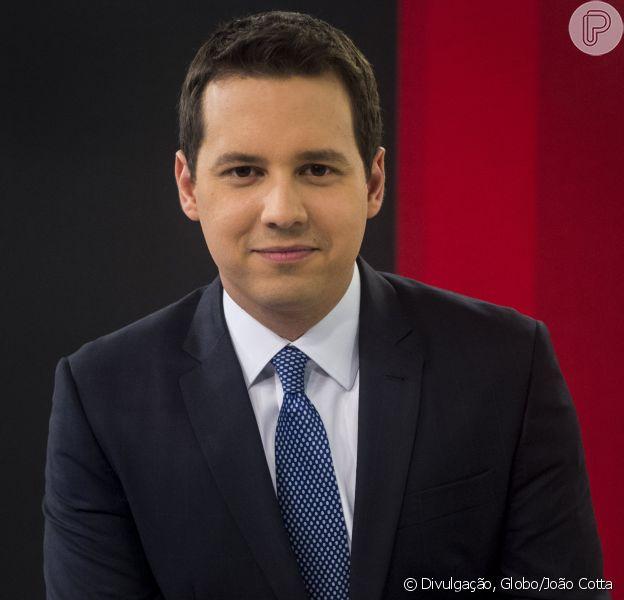Dony De Nuccio vai substituir Evaristo Costa no 'Jornal Hoje' a partir do dia 7 de agosto de 2017