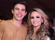 Larissa Manoela posa estilosa e namorado, Thomaz Costa, brinca: 'Quero igual'