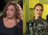 Bibi Perigosa real e Paolla Oliveira posam nos bastidores de 'A Força do Querer'