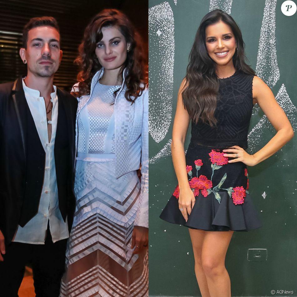 Di Ferrero negou climão entre Isabeli Fontana e Mariana Rios depois de julgar a ex-namorada no programa 'Popstar'